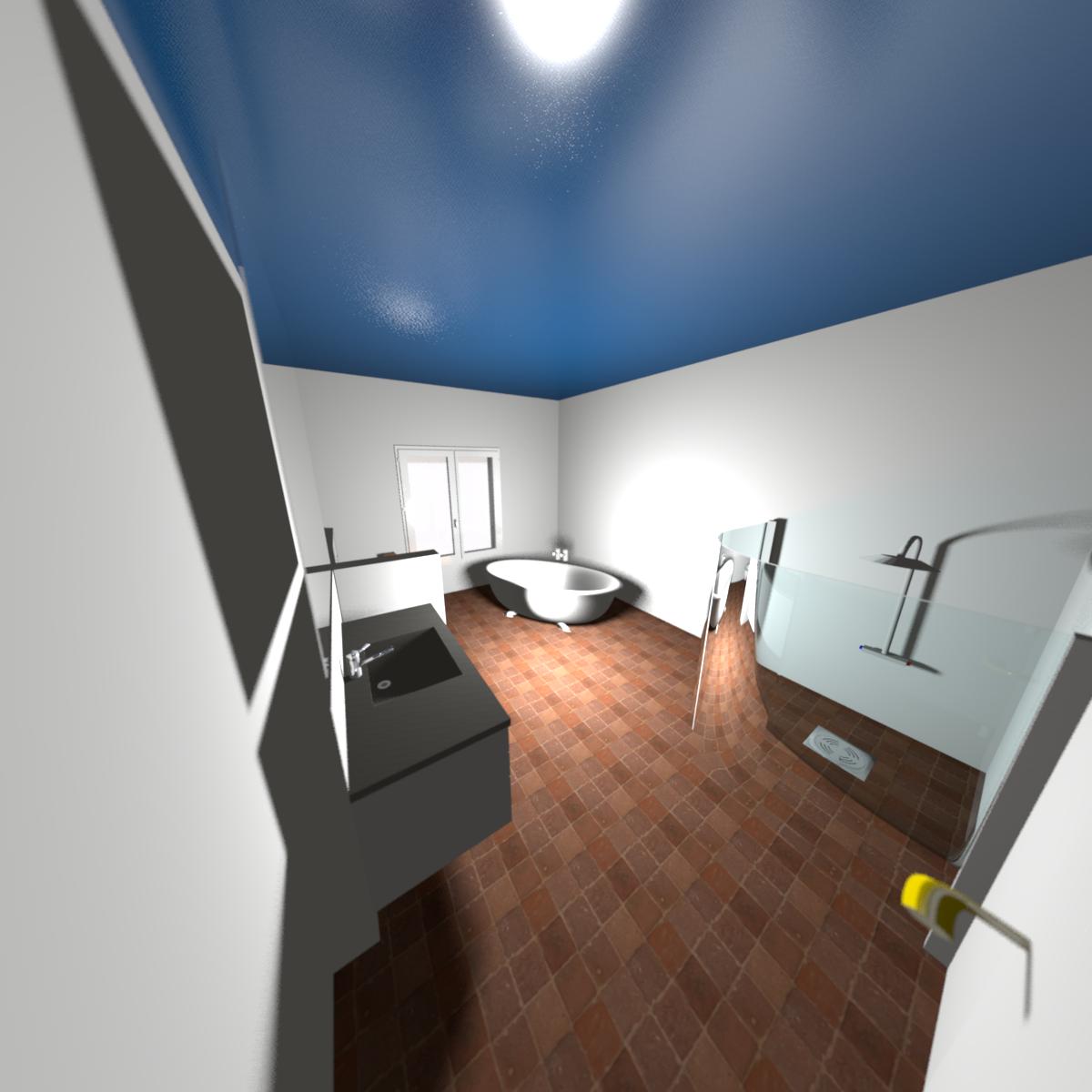 frei stehende badewanne haus im selbstbau. Black Bedroom Furniture Sets. Home Design Ideas