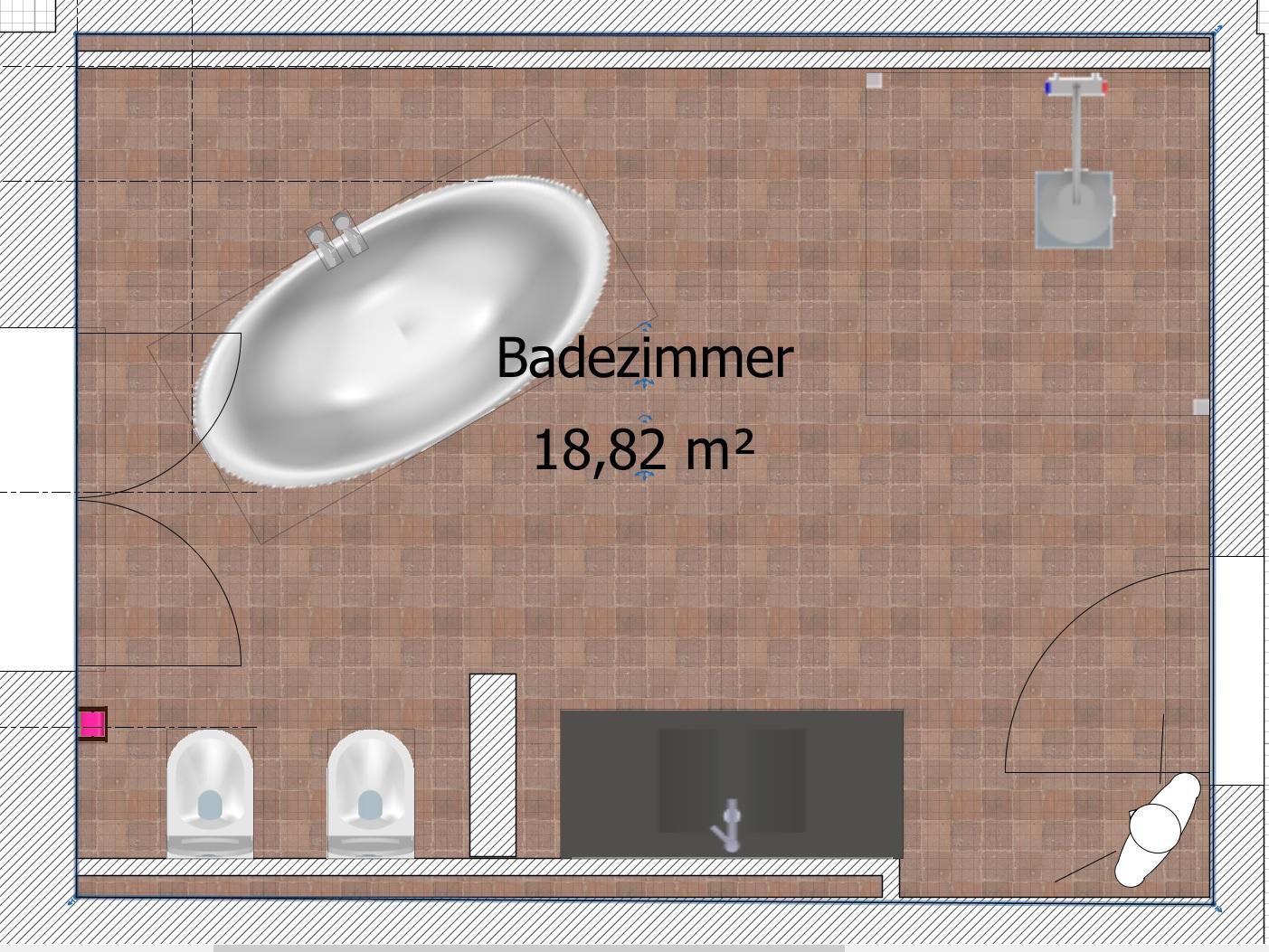 begehbare Dusche – Haus im Selbstbau
